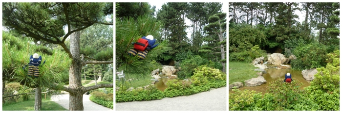 Tree Climbing, Japanese Garden - CrawCrafts Beasties