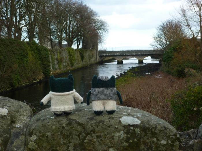 Looking Downriver To Glenarm Village - H Crawford/CrawCrafts Beasties
