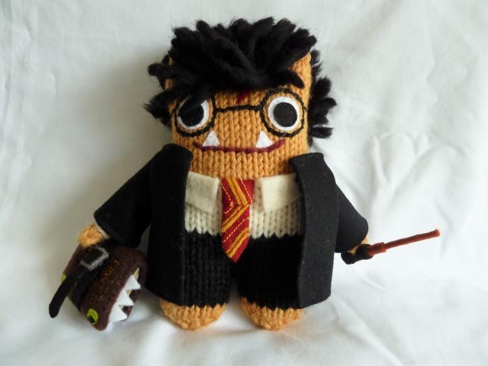 Harry Potter Beastie in Hogwarts Uniform - CrawCrafts Beasties