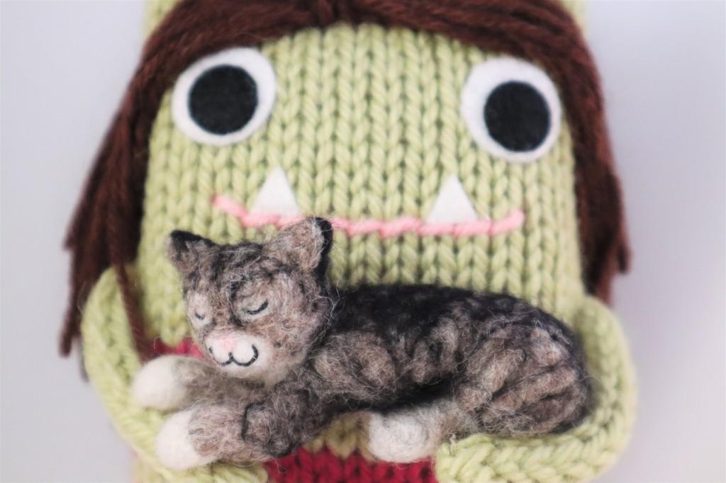 Paddy the Beastie Cat - CrawCrafts Beasties