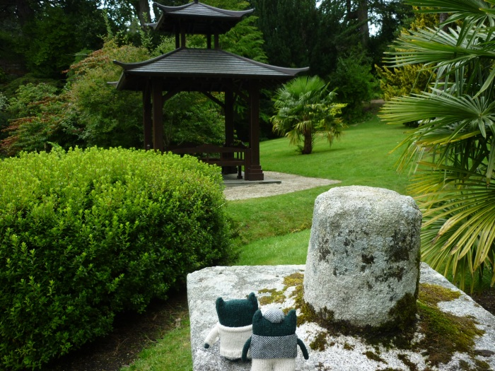 Meeting in the Japanese Garden - H Crawford/CrawCrafts Beasties