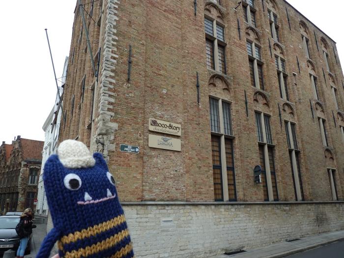 Chocolate Museum, Bruges - CrawCrafts Beasties