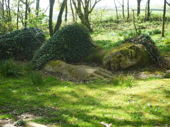 The Mud Maiden at Heligan - H Crawford/CrawCrafts Beasties