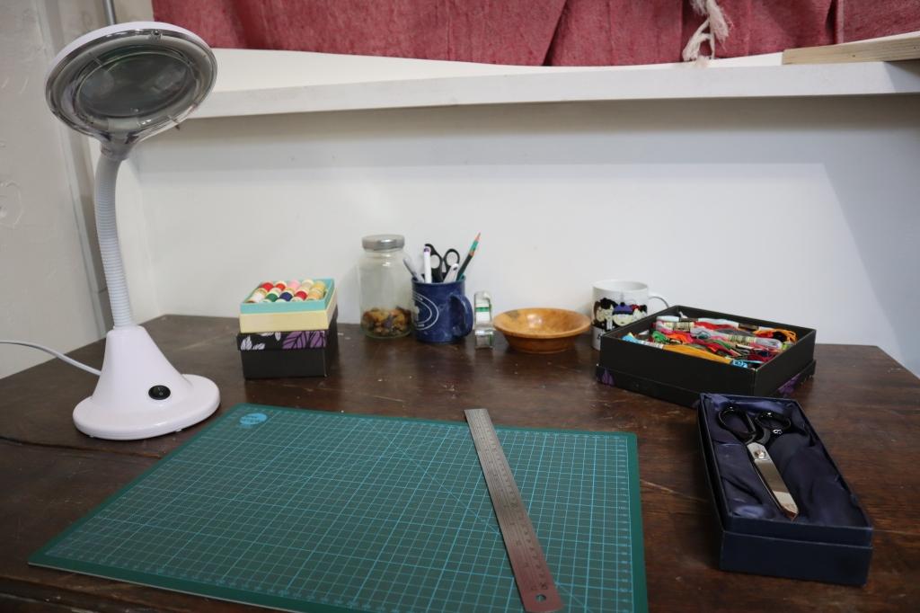 Colonising the Desk - New Studio - CrawCrafts Beasties