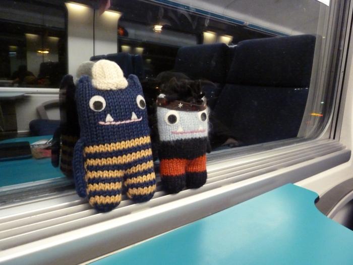 The Train Home - CrawCrafts Beasties