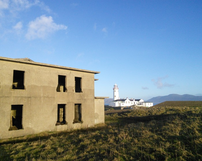 First Glimpse of Fanad Head Lighthouse - CrawCrafts Beasties