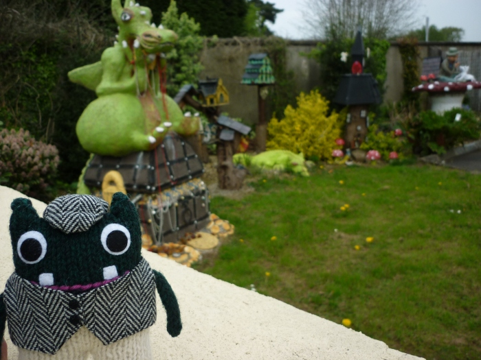 Cullybackey Dragon - Paddy and Plunkett - CrawCrafts Beasties