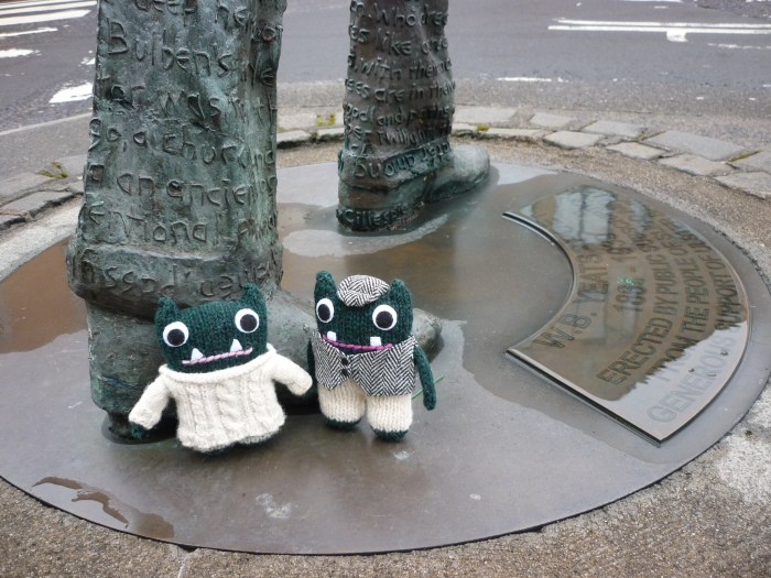 Paddy, Plunkett and some famous literary legs - H Crawford/CrawCrafts Beasties