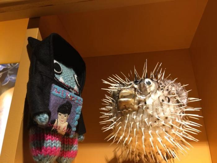 Sinead and Puffer Fish - Daze+Weekes/CrawCrafts Beasties