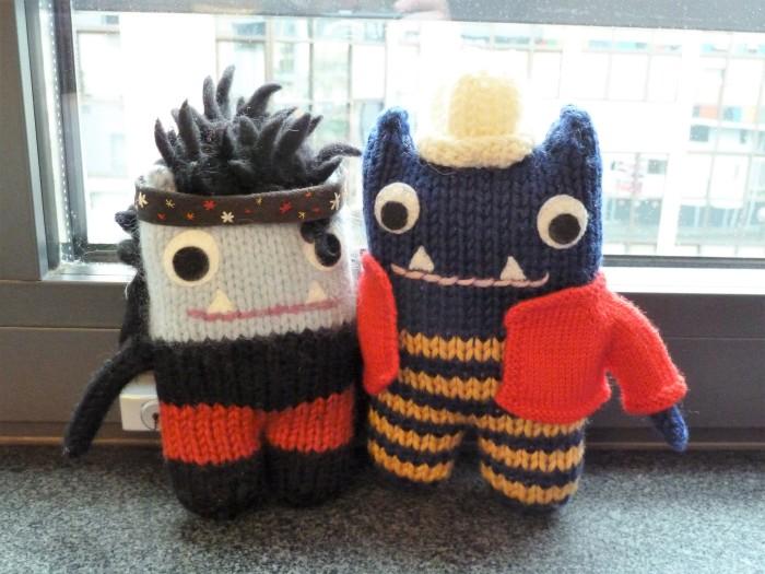 With Garcia Beastie in Brussels - CrawCrafts Beasties