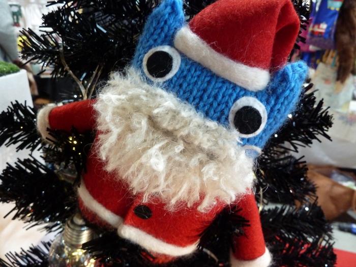 Santa Beastie, by CrawCrafts Beasties