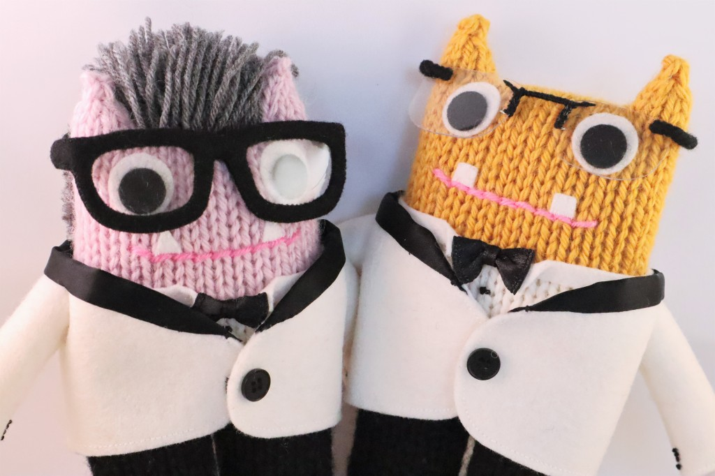 Meet the Beastie Couple! CrawCrafts Beasties