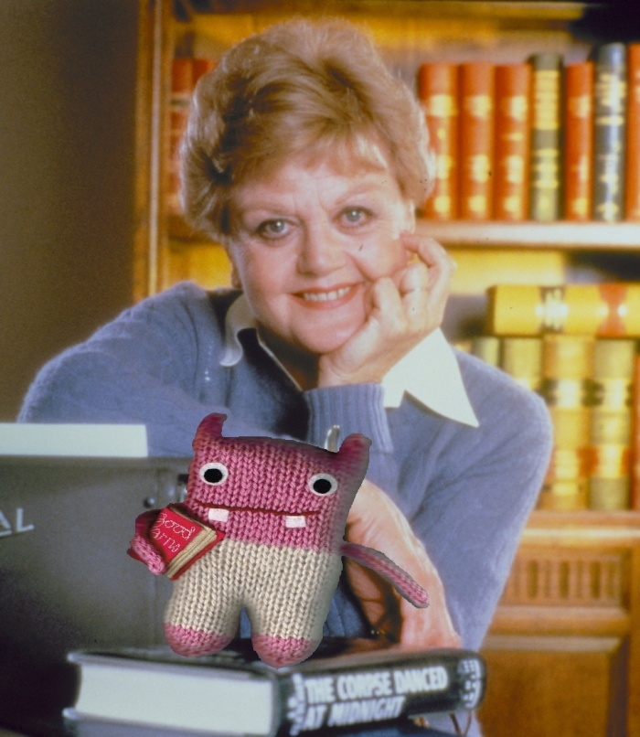 Schtocks, She Wrote - Classic Beastie Picture from the Beastie HQ Archives - CrawCrafts Beasties