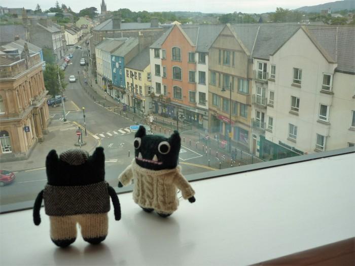 Paddy and Plunkett in Sligo - H Crawford/CrawCrafts Beasties