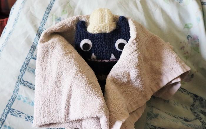 Spa Day - Fluffy Towel - CrawCrafts Beasties