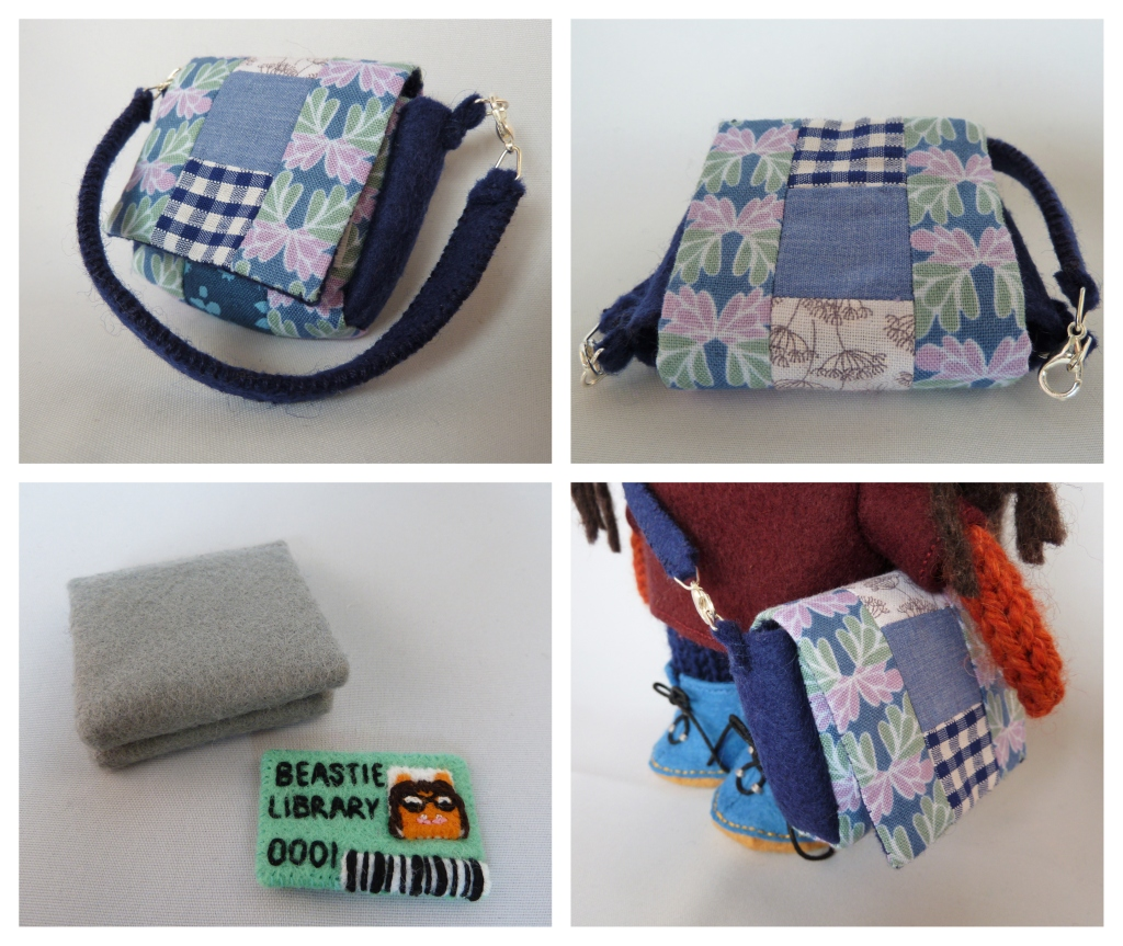 Quilting Inspired Beastie Bag by CrawCrafts Beasties