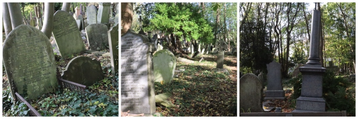 Traditional Monuments at Highgate Cemetery - CrawCrafts Beasties