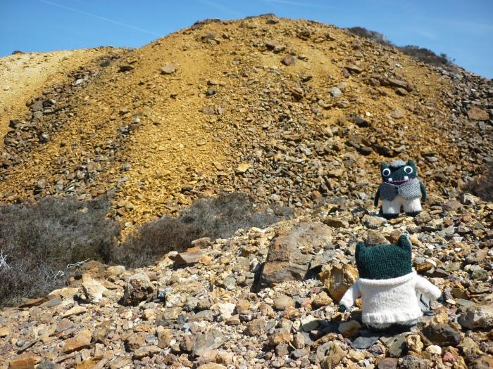 Plunkett lays claim to Parys Mountain - H Crawford/CrawCrafts Beasties