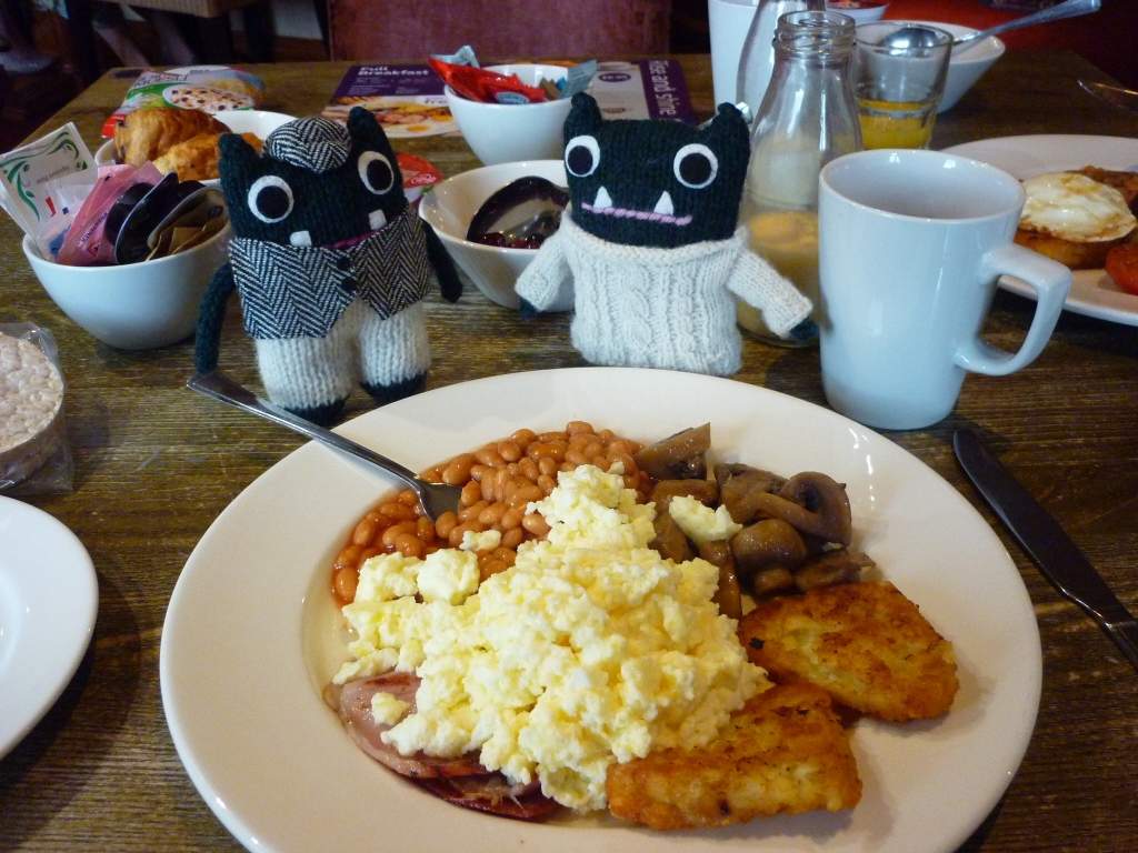Breakfast Fit For A Beastie - H Crawford/CrawCrafts Beasties