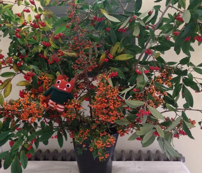 Festive Beastie Berries! CrawCrafts Beasties