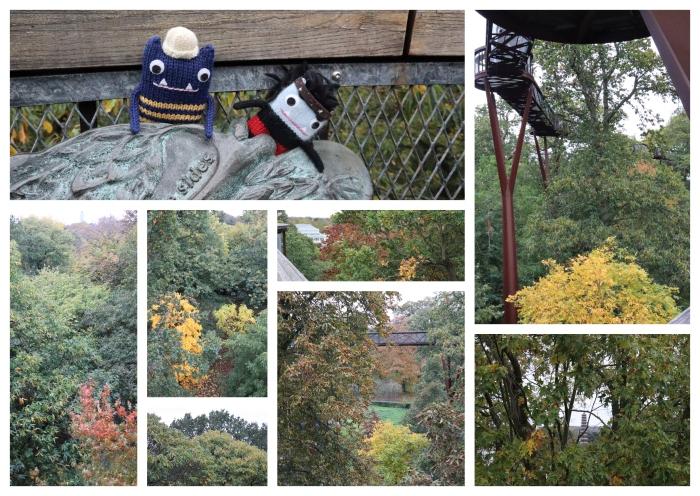 Treetop Walkway in Autumn - CrawCrafts Beasties