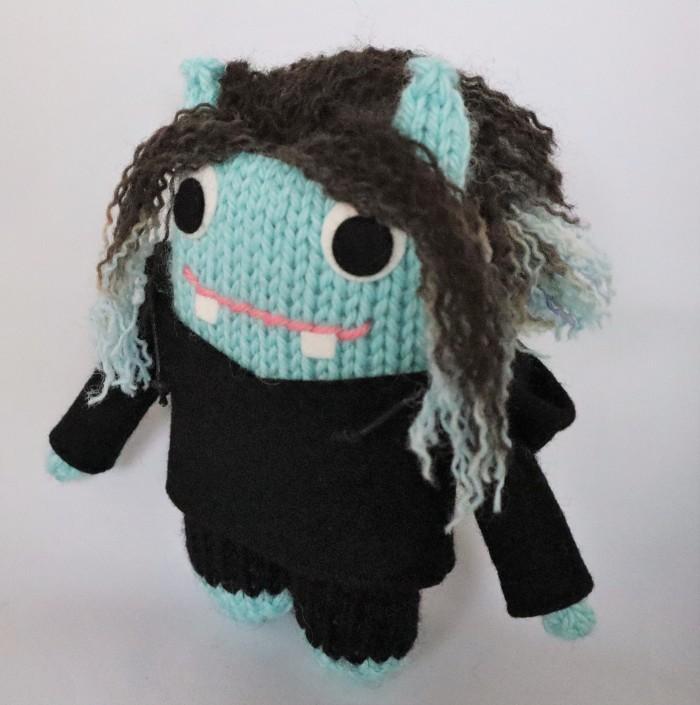 Hair Dye Beastie with Hoodie - CrawCrafts Beasties