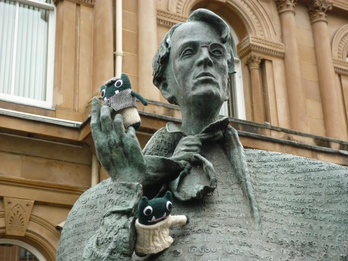 Paddy, Plunkett and the Poet in Sligo - H Crawford/CrawCrafts Beasties