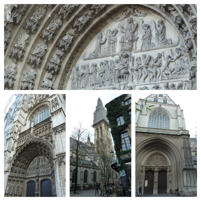 Church of Our Lady, Antwerp - CrawCrafts Beasties