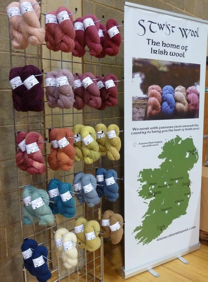 Natural Dye Yarns by S Twist Wool at Woollinn - CrawCrafts Beasties, Beastie HQ