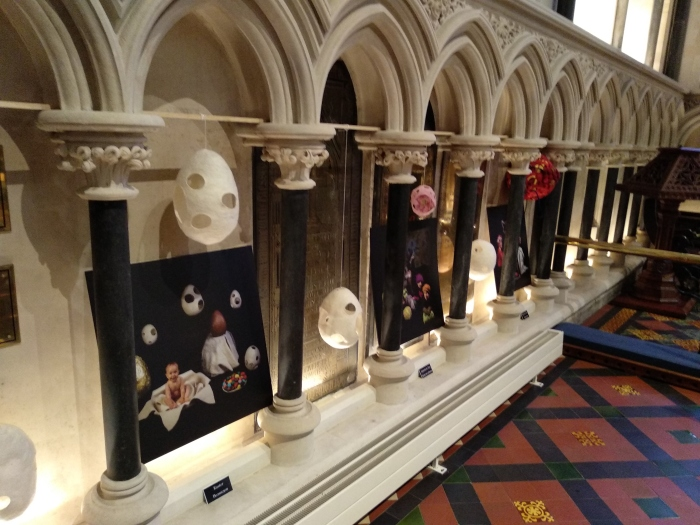 Felt Gems by Niki Collier at St Patrick's Cathedral - CrawCrafts Beasties