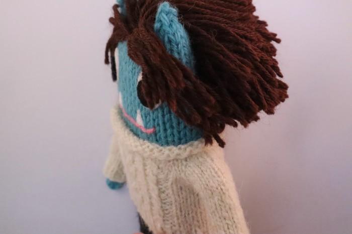 Alpaca Hair and Aran Sweater - CrawCrafts Beasties