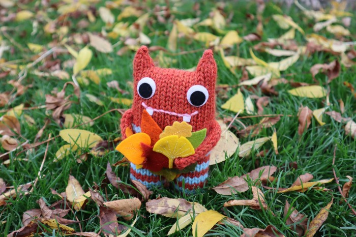 Autumn Beastie, by CrawCrafts Beasties