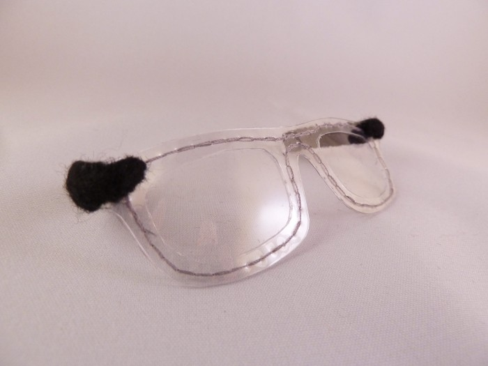 Glasses for Spencer Beastie - CrawCrafts Beasties