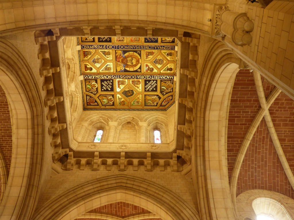 Painted Ceilings at Buckfast Abbey - B Crawford/CrawCrafts Beasties