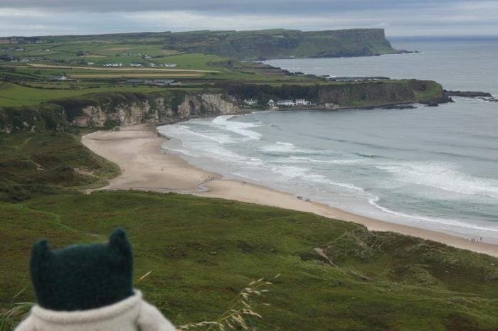 Paddy and Portbraddon - North Antrim Coast - H Crawford/CrawCrafts Beasties