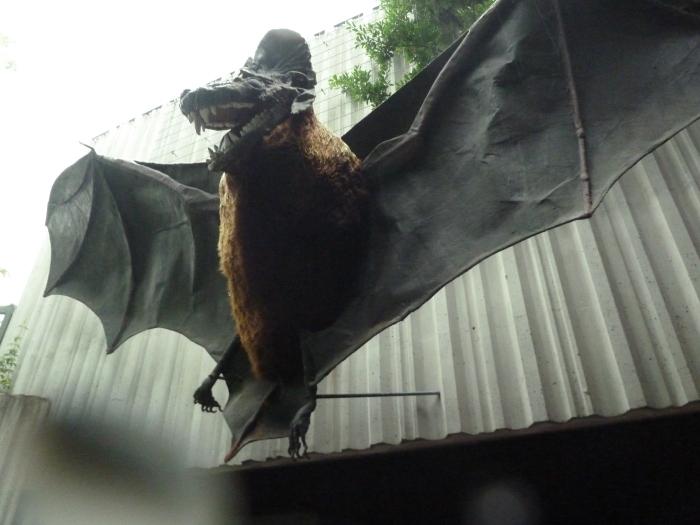 Gaaaaaah! Giant Bat! CrawCrafts Beasties
