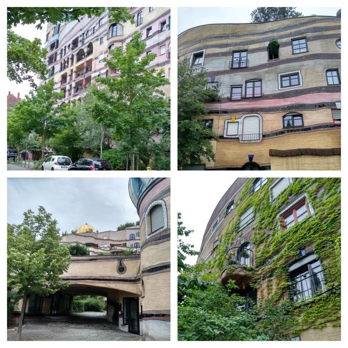 Views of Hundertwasser Waldspirale - CrawCrafts Beasties