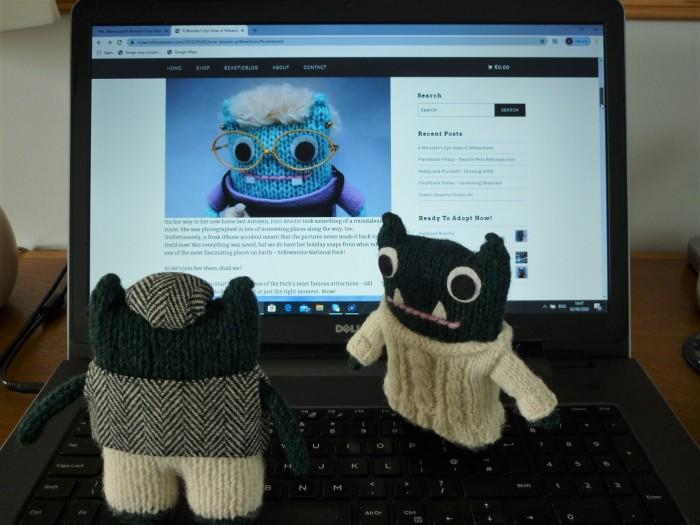 Keeping up with the BeastieBlog - H Crawford/CrawCrafts Beasties