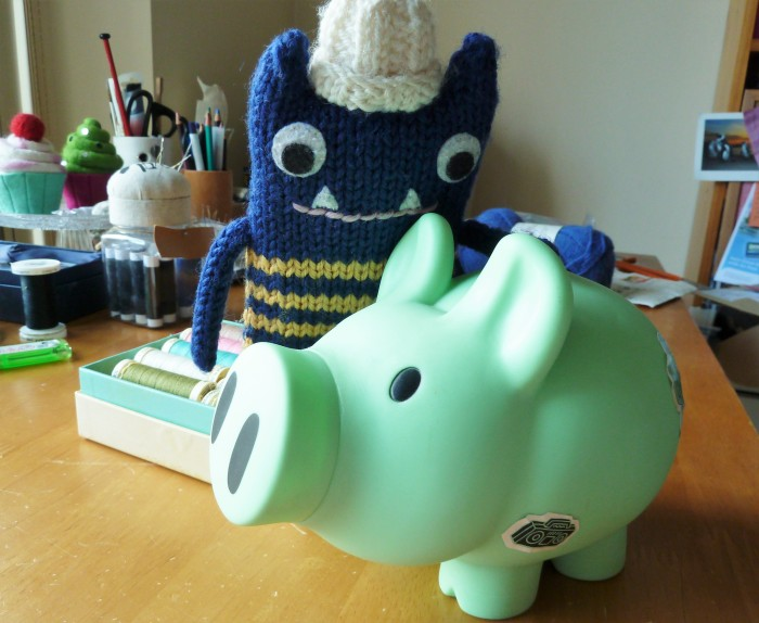 Checking our Finances for Framing - CrawCrafts Beasties