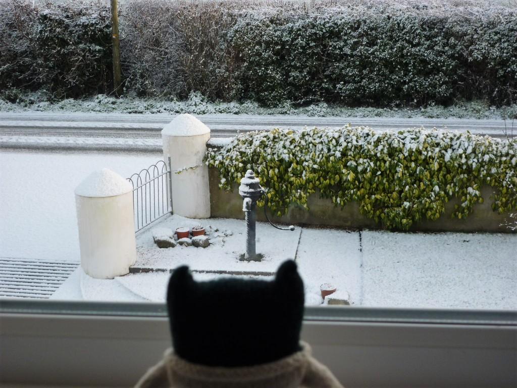 Paddy Spots the Snow - H Crawford/CrawCrafts Beasties