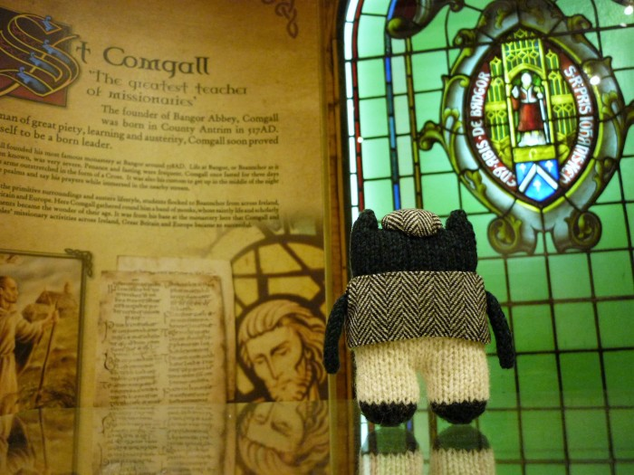 Plunkett Reads All About Bangor's History - H Crawford/CrawCrafts Beasties