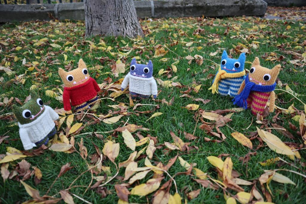 Beastie Fall Knitwear Collection - CrawCrafts Beasties