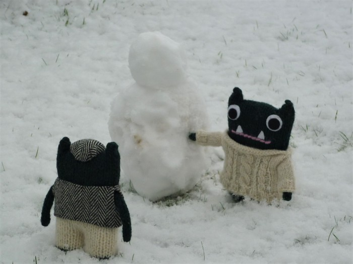 Paddy's Snow Beastie - H Crawford/CrawCrafts Beasties