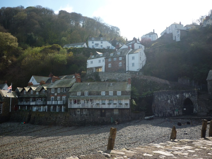 Clovelly From the Harbour - H Crawford/CrawCrafts Beasties