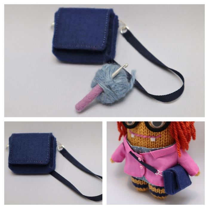 Detective Beastie's Bag - Commissions by CrawCrafts Beasties