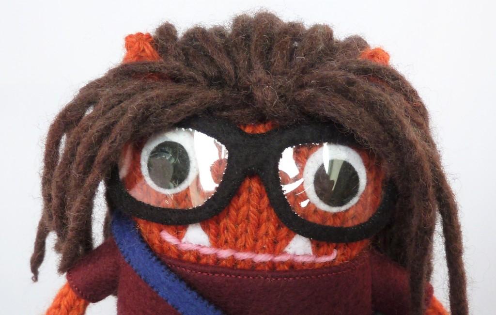 tierneycreates Beastie Face Closeup - CrawCrafts Beasties, Beastie HQ