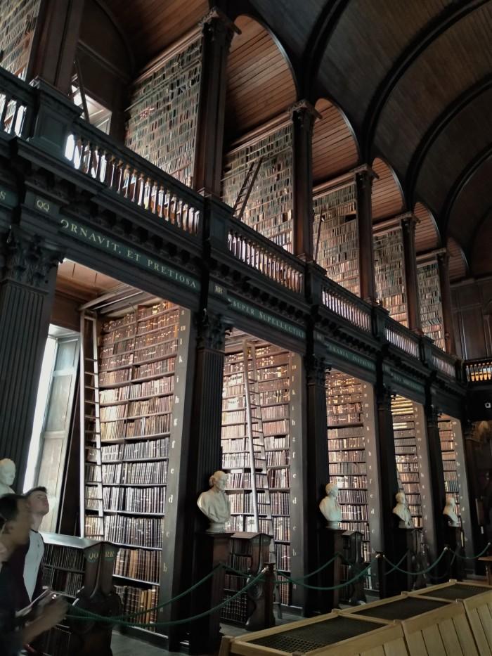 The Long Room Library, Trinity College Dublin - CrawCrafts Beasties, Beastie HQ