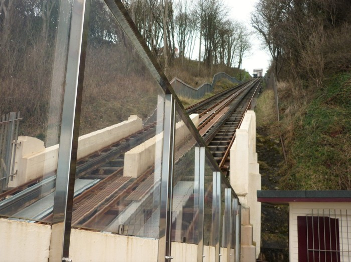 The Tracks at Babbacombe Cliff Railway - H Crawford/CrawCrafts Beasties