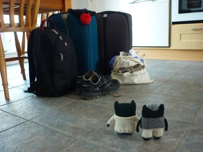 Paddy and Plunkett plan a trip - H Crawford/CrawCrafts Beasties
