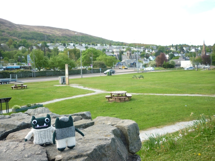 The Peaceful Heart of Fort William - H Crawford/CrawCrafts Beasties